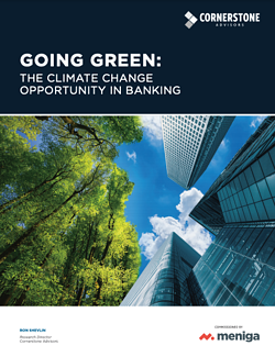 Going Green: The Climate Change Opportunity in Banking