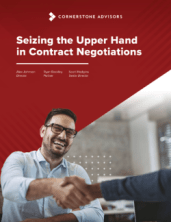 Seizing the Upper Hand in Contract Negotiations