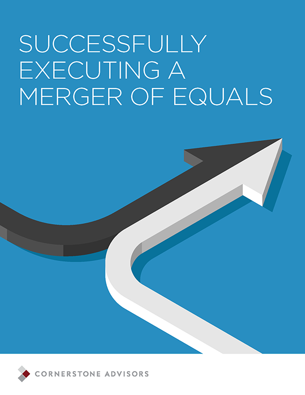Successfully Executing a Merger of Equals